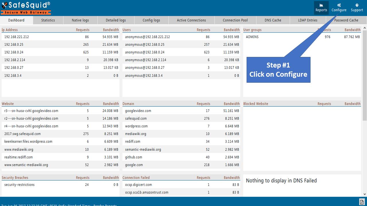 Allow anydesk - Secure Web Gateway
